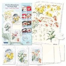 "BASTELSETS / CRAFT KITS: 3D Bastelset blomst cards ""Flower Magic"" af Franz Heigl,"