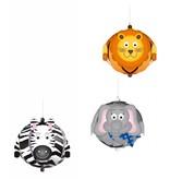 """Kinder Bastelsets / Kids Craft Kits Funny Paper Balls, """"Wildtiere"""""""