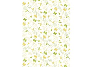 Tante Ema Tessuto di cotone: Estate Flutter