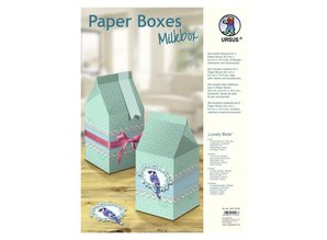 "Dekoration Schachtel Gestalten / Boxe ... Paper Boxes, ""Lovely Birds"""