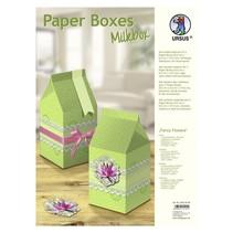 "Paper Boxes, ""Fancy Flowers"""