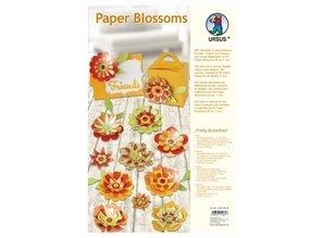 """Dekoration Schachtel Gestalten / Boxe ... Paper Blossoms, """"Pretty Butterflies"""", d = 7cm"""