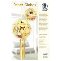 "Papir Globes, ""Smukke sommerfugle"""
