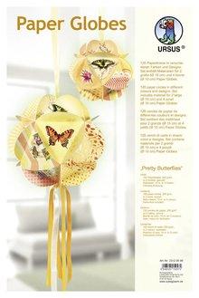 """Dekoration Schachtel Gestalten / Boxe ... Papir Globes, """"Smukke sommerfugle"""""""