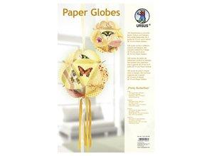 "Dekoration Schachtel Gestalten / Boxe ... Paper Globes, ""Pretty Butterflies"""