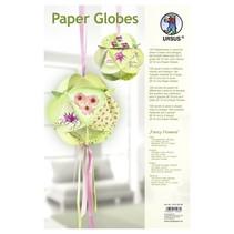 "Papir Globes, ""Fancy Flowers"""