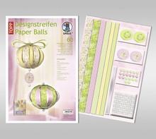 """Dekoration Schachtel Gestalten / Boxe ... Bastelpackung: palle di carta, """"Charlotte"""""""