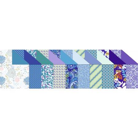 """DESIGNER BLÖCKE  / DESIGNER PAPER Designkarton """"Sapphire"""", Block á 20 Blatt,"""