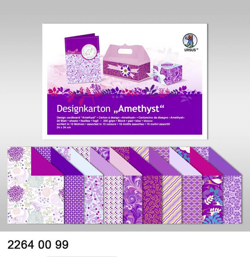 DESIGNER BLÖCKE / DESIGNER PAPER Designkarton \