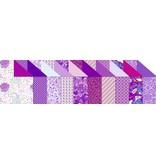 """DESIGNER BLÖCKE  / DESIGNER PAPER Design board """"Amethyst"""" blok af 20 ark, 200g, trykt på begge sider"""