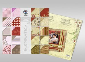 "Designer Papier Scrapbooking: 30,5 x 30,5 cm Papier Scrapbook paper, ""Edition 1"", 120g/sqm, 1 block = 44 sheets in 44 assorted designs"