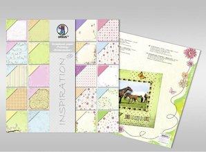 "Designer Papier Scrapbooking: 30,5 x 30,5 cm Papier Scraphook paper, ""Spring"" / ""Flower Magic"", 190g,"