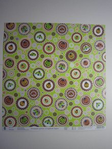 "Designer Papier Scrapbooking: 30,5 x 30,5 cm Papier Premium Glitter Scraphook papir, ""egern"", 190g / kvm,"