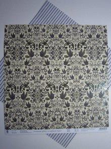 "Designer Papier Scrapbooking: 30,5 x 30,5 cm Papier Premium Glitter Scraphook papir, ""Ægteskab"", 190g / kvm"