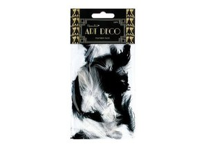 Embellishments / Verzierungen Paquete de primavera, blanco y negro 30pcs