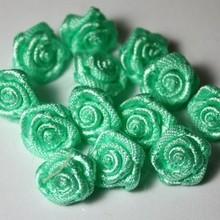 Embellishments / Verzierungen Mini cimette luce di colore verde