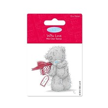 Me to You 7,5 x 7,5cm Transparent Stempel - Me To You (Present)