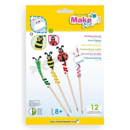 "Kinder Bastelsets / Kids Craft Kits Bastelset: ""Bleistiftverzierung "" aus Moosgummi Kit"