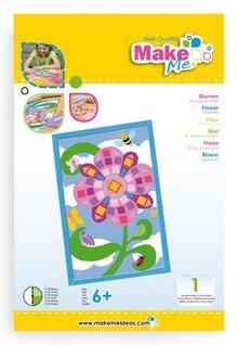 """Kinder Bastelsets / Kids Craft Kits Craft Kit: """"flowers"""" made of foam rubber kit"""