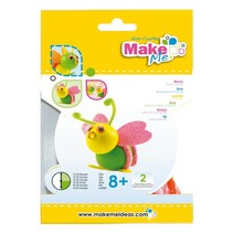 """Craft Kit: """"Bee"""" de goma espuma y arcilla Kit"""