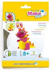 "Kinder Bastelsets / Kids Craft Kits Craft Kit: ""Colorful kites"" made of foam rubber & Clay Kit"