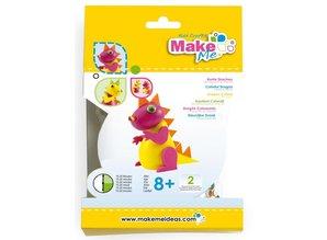 "Kinder Bastelsets / Kids Craft Kits Craft Kit: ""Cometas coloridas"" hechos de goma espuma y arcilla Kit"