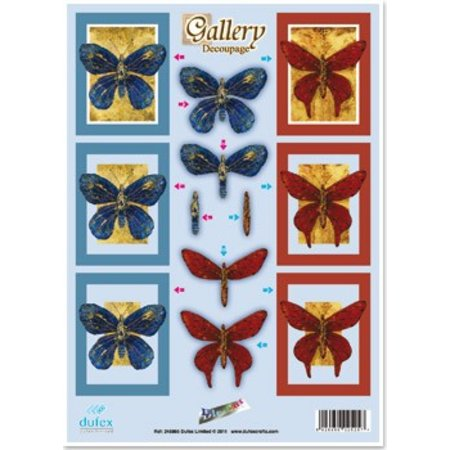 """BILDER / PICTURES: Studio Light, Staf Wesenbeek, Willem Haenraets 3D gestanst plaatwerk graveren, """"Gallery Butterflies"""""""