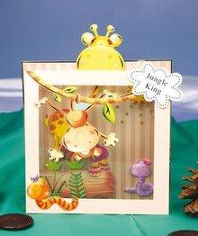 Exlusiv Craft Kit per la realizzazione della cartolina d'auguri,