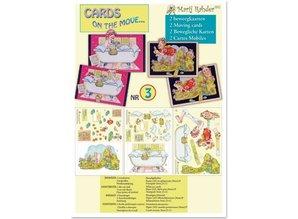 "BASTELSETS / CRAFT KITS: Movable cards: ""Mari Rahder"" 2 Themes"
