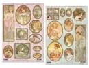 "BILDER / PICTURES: Studio Light, Staf Wesenbeek, Willem Haenraets Die hojas sueltas: ""Art Nouveau"", diferentes diseños - único disponible!"