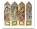 "BILDER / PICTURES: Studio Light, Staf Wesenbeek, Willem Haenraets 3D-Stanzbogen : ""Seasons 1896"" , 4 Motive"