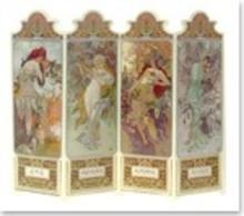 """BILDER / PICTURES: Studio Light, Staf Wesenbeek, Willem Haenraets 3D Die cut sheets: """"Seasons 1896"""", 4 designs"""