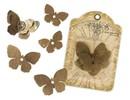 Embellishments / Verzierungen Butterflies of metal Graphic45,