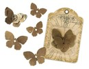 Embellishments / Verzierungen Mariposas de metal Graphic45,