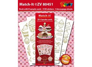 Sticker Bastelset 4 Stickerbogen and a matching cover with colored motifs.