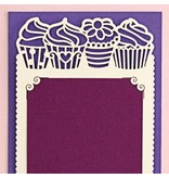 KARTEN und Zubehör / Cards 1 Set enhält 6 Luxus Karten Layouts auf ein Bogen 10,5 x 29,7cm