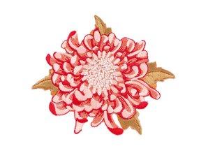 Tilda Tilda Applikation Mumflower, rosa,8 cm ø,
