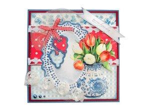 Marianne Design Craftables Cesta de la flor - etiqueta, CR1209