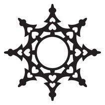 Stanz- und Prägeschablone, Craftables Star, CR1229