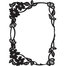 Marianne Design, Flower Craftables rectángulo de borde, CR1214.