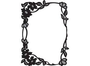 Marianne Design Marianne Design, Craftables Flower edge rectangle, CR1214.