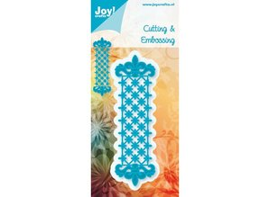 Joy!Crafts und JM Creation Border B metal skabelon 3,7 x 12 cm