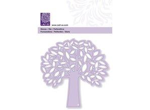 Cart-Us Stanz- und Pägeschablone: Baum mit Blättern