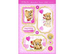 """Exlusiv Luxury Craft Kit card design """"My Best Friend"""" (Limited)"""