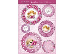 """Exlusiv Luxury Craft Kit card design """"Flower for me"""", (Limited)"""