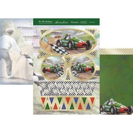 "Exlusiv Luxus Bastelset Karten-Gestaltung ""For The Gentlemen Collection, Race Day"" Collection,Time for Tea, (Limited) - Copy"