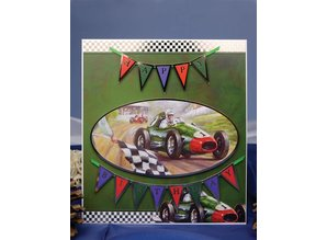 """Exlusiv Luxus Bastelset Karten-Gestaltung """"For The Gentlemen Collection, Race Day"""" Collection,Time for Tea, (Limited) - Copy"""