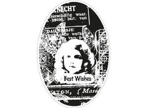 Marianne Design Marianne Design, recuerdos del vintage romántico, sello CS0867.