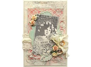 Marianne Design Marianne Design, Romantic Vintage With love, stamp CS0866