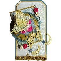 Marianne Design, Craftable Tiny´s swirls & leaves 3, CR1245.